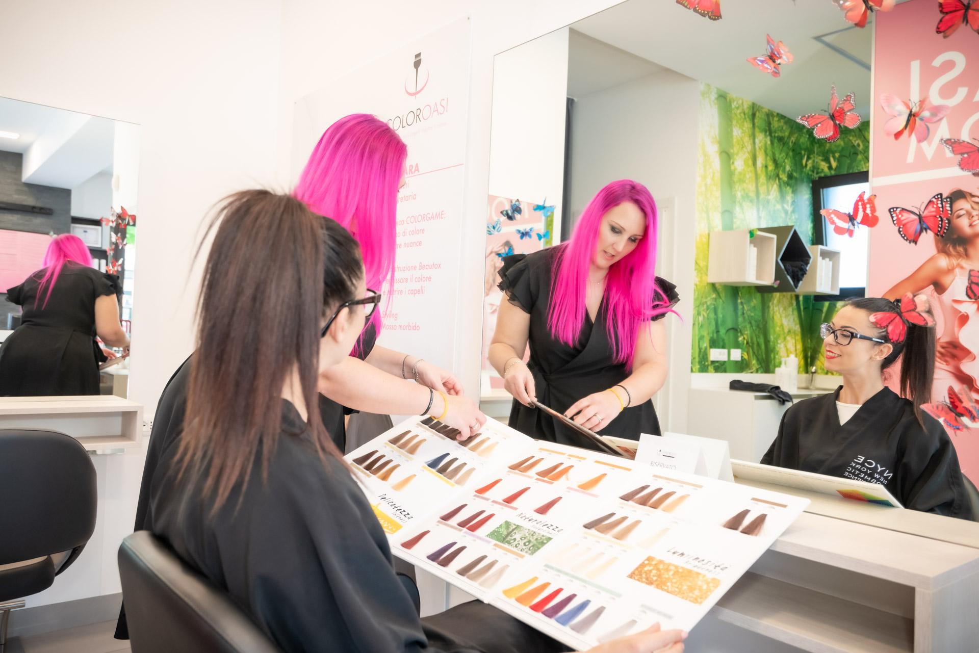 colorare i capelli a padova